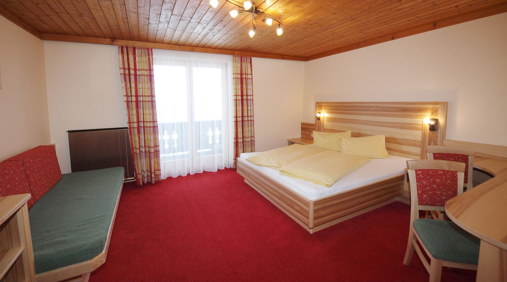 Ferienwohnung Sonnenblumenfeld - Schlafzimmer