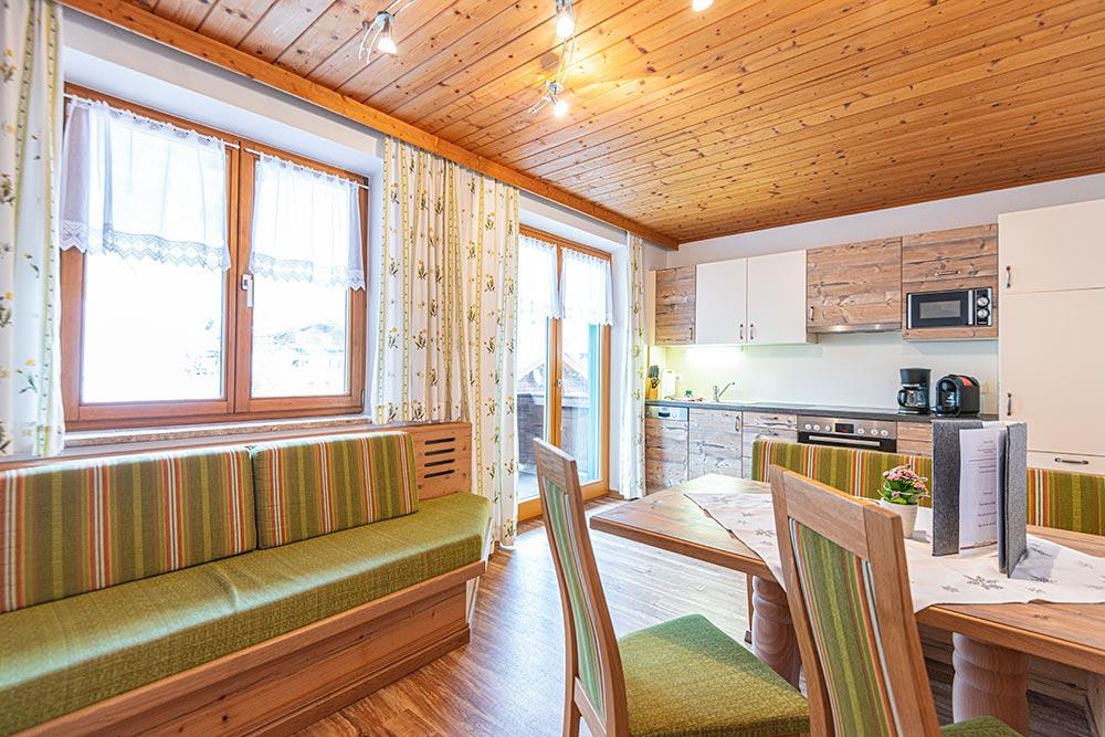 Ferienwohnung Narzissenbeet - Wohnküche