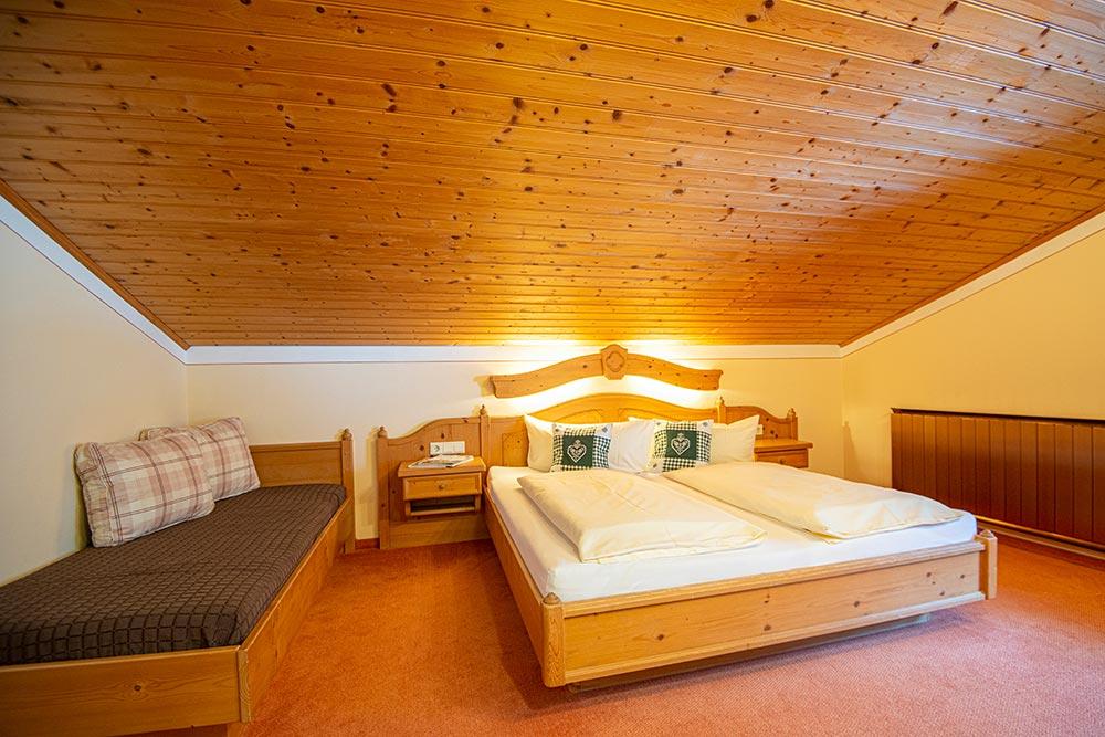 Ferienwohnung Narzissenbeet - Schlafzimmer