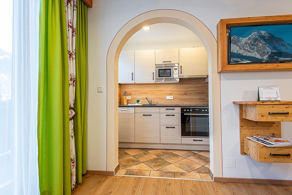 Ferienwohnung Tulpenfeld - Küche